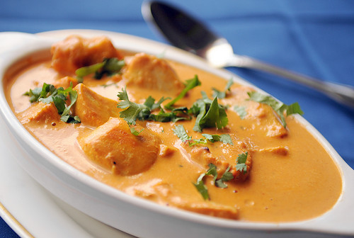 Butter Chicken India Cafe Restaurant Recipe